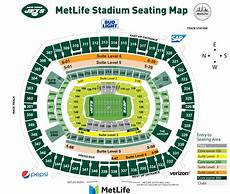 Metlife Virtual Seating Chart New York Jets Pricing Chart