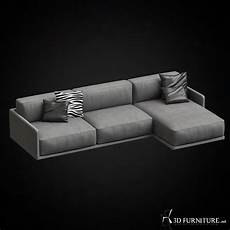Tiny Sectional Sofa 3d Image by 3d Gamma Border Sectional Sofa Furniture 3d Models