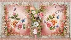 Flower Wallpaper Vintage Hd by Vintage Flower Wallpaper And Background Image
