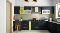 modular kitchen ideas l shaped modular kitchen designs india homelane