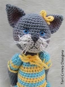 teri s cat in pajamas new crochet pattern