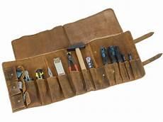 Werkzeugrolle Leder Braun by Motorrad Biker Werkzeugrolle Leder In Antik Braun