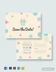 Save Word Template Save The Date Postcard Template Word Psd Apple Pages