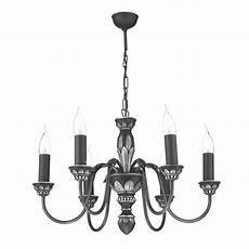Pewter Pendant Light Fitting David Hunt Ox6 Oxford 6 Light Ceiling Light Antique