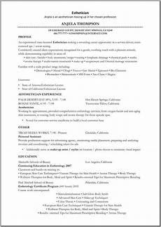 New Esthetician Resumes Esthetician Jpg 960 215 1351 Resume Esthetician Resume