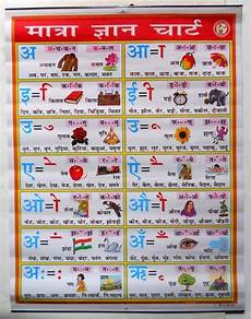 Hindi Matra Words With Pictures Chart India Vintage School Chart Poster Print Matra Gyan Chart