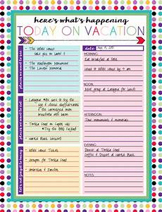 Planning For Vacation I Should Be Mopping The Floor Free Printable Daily And