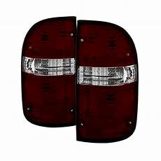 01 Tacoma Lights 01 04 Toyota Tacoma Oem Style Lights Red Smoked