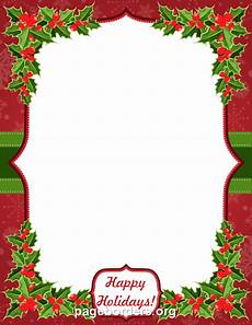 Free Christmas Clipart Borders Printable Happy Holidays Border Christmas Lettering Happy