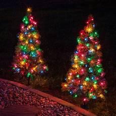 Tree Lights On Sale Outdoor Decorations 3 Walkway Pre Lit Winchester Fir