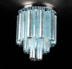 Bubble Tube Ceiling Light Tube Modern Ceiling Lamp 11 Lights In Murano Blown Glass