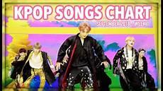 2018 Pop Charts K Pop Songs Chart September 2018 Week 1 Youtube