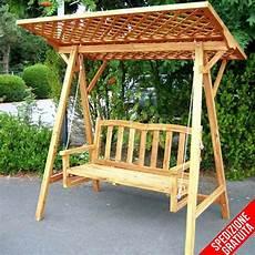 tettoia giardino dondolo da giardino in legno a 2 posti con tettoia in