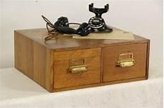oak 2 drawer 1920 antique desktop 5x7 file cabinet ebay