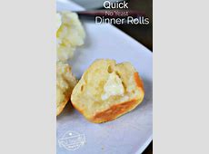 Quick, No Yeast Fabulous Biscuit Like Dinner Rolls Recipe