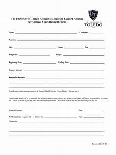 Hospital Note For Work Template Toledo Hospital Doctors Note Form Fill Out And Sign