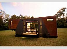 dunkin' donuts builds tiny transportable house that runs on discarded coffee grounds
