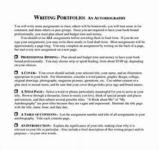 Autobiography Writing Template Free 10 Sample Autobiography In Pdf Ms Word