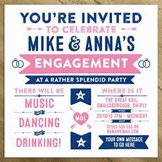 Party Invation Wedding Engagement Birthday Party Invitations By A Is