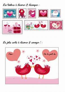 Cartes St Valentin Carte Saint Valentin By Natacha Birds Carte St Valentin