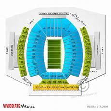Unc Kenan Stadium Seating Chart Kenan Stadium Seating Chart Vivid Seats