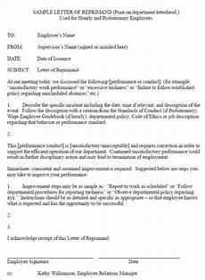 Sample Of Employee Write Up Write Up Letter For Employee Sample Letters Free