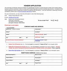 Vendor Registration Form Template Vendor Application Form Template Charlotte Clergy Coalition