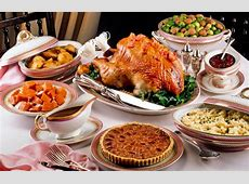 Thanksgiving: the traditional dinner menu and where to