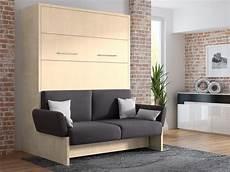 wandbett mit sofa wbs 1 soft 160 x 200 cm in mainau birke