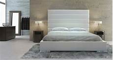 exquisite leather high end platform bed