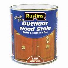 Light Oak Outdoor Wood Stain Rustins Quick Dry Outdoor Wood Stain Light Oak Satin 250ml