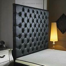 top quality crown wall diamonte leather headboard in 2ft6