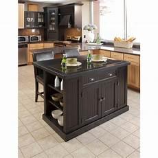 kitchen island styles home styles nantucket black kitchen island with granite