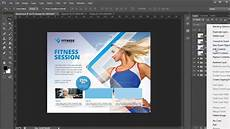 Business Advertisement Template Business Flyer Template Photoshop Tutorial Youtube