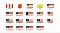 Flags Timeline The Evolution Of Us Flags In 80 Seconds Youtube
