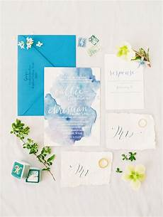 Watercolor Wedding Cards The Loveliest Watercolor Wedding Invitations Martha