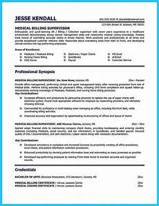 Medical Billing Job Description For Resume Cool Exciting Billing Specialist Resume That Brings The