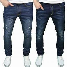 Mens Fit Designer Jeans Uk Soulstar Mens Designer Slim Fit Distressed Wash Denim