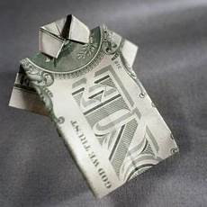 how to fold a dollar bill into a shirt very impressive