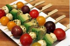 appetizers skewer 8 fast easy appetizers with pesto