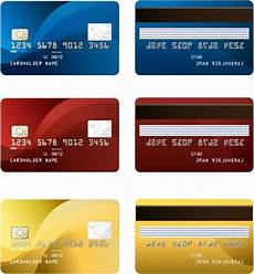 Credit Card Images Free Download Vector Credit Card Two Sides Free Vector In Adobe