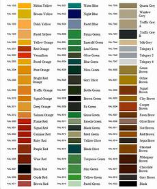 Buy Ral Color Chart Ral Color Chart Atlas Protective Coatings