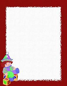 Ms Word Stationery Holiday Stationery For Word Free Christmas Stationery