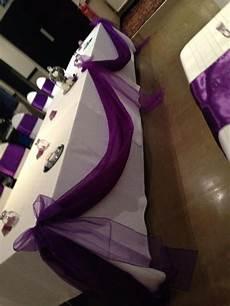 wedding chair covers accrington cadbury purple satin sashes with white spandex chaircovers