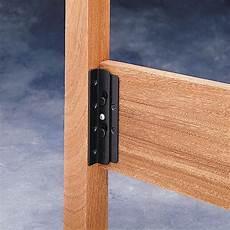 surface mounted keyhole bed rail brackets 90 176 bracket