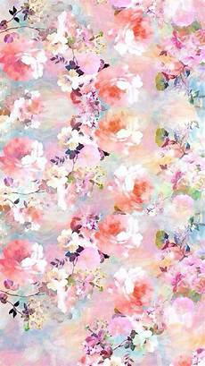 Watercolor Flower Wallpaper Iphone by Watercolor Flowers Painting Iphone 6 Wallpaper In 2019