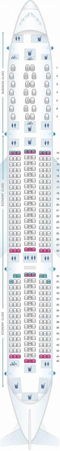 Airbus A350 900 Seating Chart Seat Map Air Mauritius Airbus A350 900 Seatmaestro