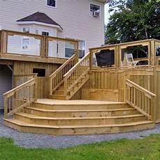 Two Level Deck Designs Two Level Deck Design Ideas Design Ideas