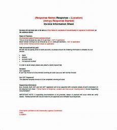 Contract Work Invoice Template Contract Invoice Template 9 Free Word Excel Pdf