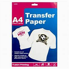 T Shirt Transfer 2 4 8 Sheets A4 T Shirt Transfer Paper Ink Jet Iron On